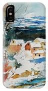 Watercolor  011040 IPhone Case
