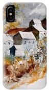Watercolor 015032 IPhone Case