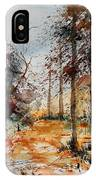Watercolor  040902 IPhone Case