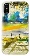Watercolor 112040 IPhone Case