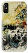 Watercolor  130708 IPhone Case