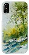 Watercolor 181207 IPhone Case