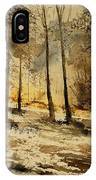 Watercolor  191106 IPhone Case