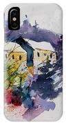Watercolor 231207 IPhone Case