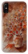 Watercolor Autumn Bunch IPhone Case