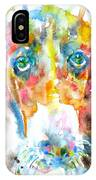 Watercolor Basset Hound IPhone Case