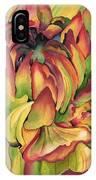 Watercolor Dahlia IPhone Case