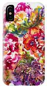 Watercolor Garden IIi IPhone Case