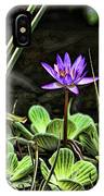 Watercolor Lily IPhone Case