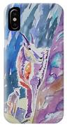 Watercolor - Mountain Goat With Young IPhone Case