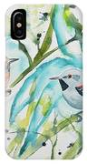 Watercolor - Ornate Antwren In The Bamboo IPhone Case