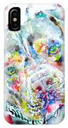 Watercolor Pit Bull.2 IPhone Case
