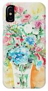 Watercolor Series 140 IPhone Case
