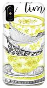 Watercolor Teacups-c IPhone Case