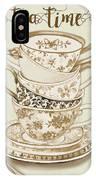 Watercolor Teacups-e IPhone Case