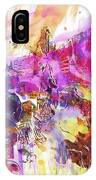 Watercolour Watercolor Paint Ink  IPhone Case