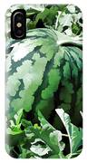 Waterelons In A Vegetable Garden IPhone Case