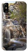 Waterfall At La Jolla Canyon IPhone Case