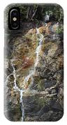 Waterfall At Lake Willoughby  IPhone Case