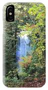 Waterfall Beyond The Trees IPhone Case
