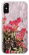Waterfall Flowers IPhone Case