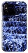 Waterfall In Blue IPhone Case