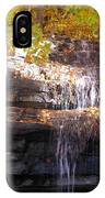 Waterfall In Creve Coeur IPhone Case