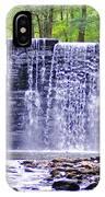 Waterfall In Gladwyne IPhone Case