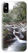 Waterfall In The Forest IPhone Case