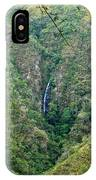 Waterfall In The Intag 4 IPhone Case