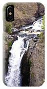 Waterfall In Yellowstone IPhone Case