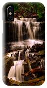 Waterfall Mcconnells Mills State Park IPhone Case