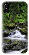 Waterfall Medley IPhone Case