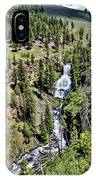 Waterfall On Lava Creek 1 IPhone Case