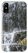 Waterfall On Mount Ranier IPhone Case