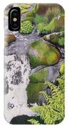 Waterfall On Skye IPhone Case