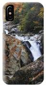 Waterfall On West Fork French Broad River IPhone Case