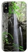 Waterfall Portrait IPhone Case