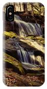 Waterfall Through The Trees IPhone Case