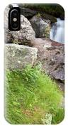 Waterfalls And Bluebells IPhone Case