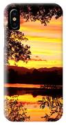 Waterfront Spectacular Sunset IPhone Case