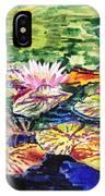 Waterlilies Impressionism IPhone Case