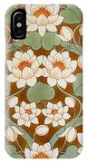 Waterlily Ogee IPhone Case