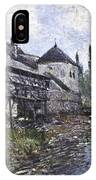 Watermill Near Moret IPhone Case