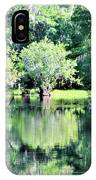 Waterscape #1 Hillsborough River IPhone Case