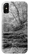 Waterscape In Bw IPhone Case