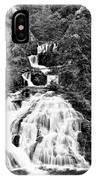 Water Slide Waterfall Bw IPhone Case