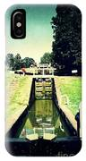 10945 Watford Locks On The Grand Union Canal IPhone Case