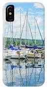 Glen Harbour Marina IPhone Case