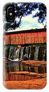 Watson Mill Covered Bridge 042 IPhone Case
